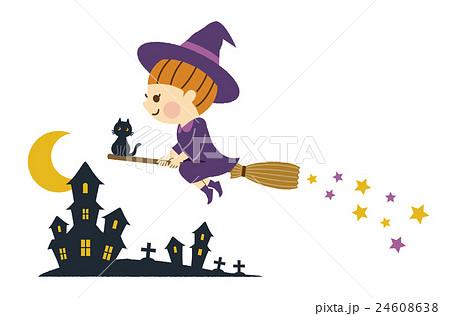 ハロウィン 魔女 24608638