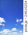 青空 空 雲の写真 24610204