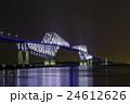 夜の東京ゲートブリッジ 24612626
