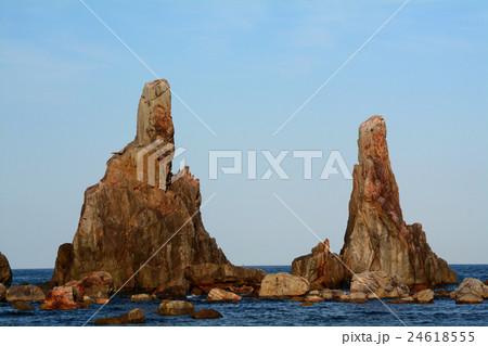 橋杭岩の中の拝み岩 24618555