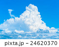 青空 夏空 積乱雲の写真 24620370