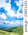 【長野県】山の自然風景【夏】 24621191