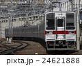 電車 東武東上線 乗り物の写真 24621888