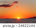 日本海の夕陽 24622144