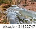 川 凍った 自然の写真 24622747