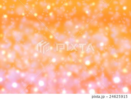ふんわりした光 オレンジ 24625915