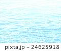 小花と波の模様 水色 24625918