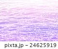 小花と波の模様 ムラサキ 24625919