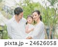 家族 笑顔 散歩の写真 24626058