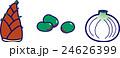 春野菜・筍・そら豆・新玉ねぎ 24626399