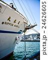 神戸港に停泊中の帆船日本丸 24626605