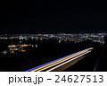 函館山 夜景 登山道から見た夜景 24627513