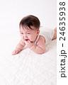 赤ちゃん、泣き顔 24635938