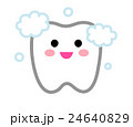歯とはぶらしキャラクター 24640829