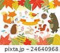 秋の森のイラスト(3) 24640968
