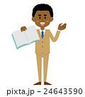 アフリカ人ビジネスマン_テキスト_15シリーズ 24643590