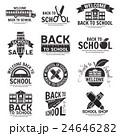 スクール 学校 ビンテージのイラスト 24646282