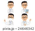 医師(メガネ) バストアップ 4パターン 24646342