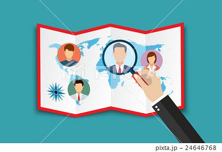 Human resources management concept 24646768