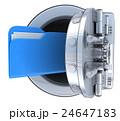 ファイル 保護 守るのイラスト 24647183