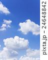 青空 空 雲の写真 24648842