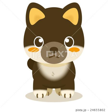いぬっこ倶楽部 柴犬(黒) 24655802
