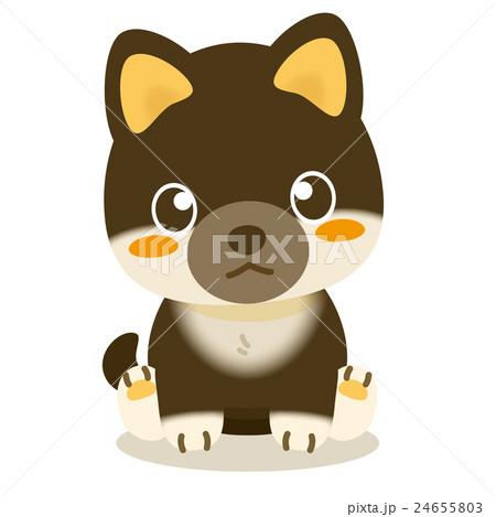 いぬっこ倶楽部 柴犬(黒) 24655803