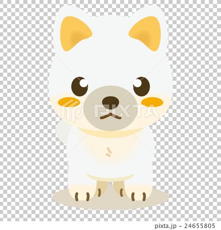いぬっこ倶楽部 柴犬(白) 24655805