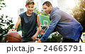 Basketball Action Activity Bounce Practice Sport Concept 24665791