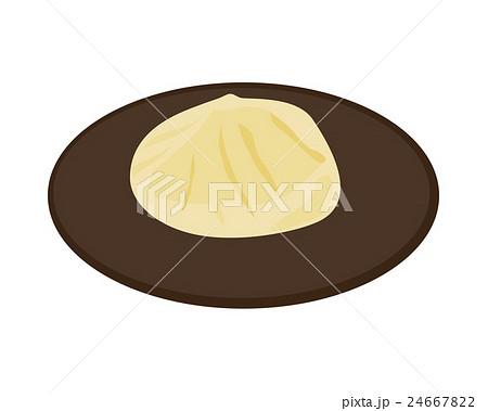 栗きんとん イラストのイラスト素材 24667822 Pixta