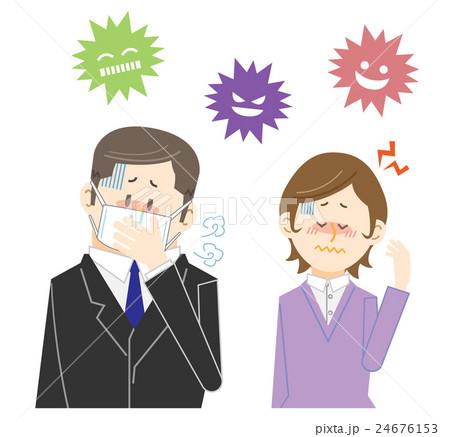 風邪ウィルスに注意 24676153