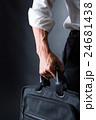 サラリーマン ビジネスマン 出勤の写真 24681438