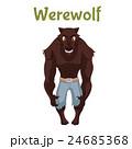 狼男 ハロウィン ハロウィーンのイラスト 24685368