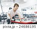 フィットネスジム トレーニング 女性の写真 24686195