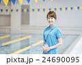 スポーツクラブ 女性 笑顔の写真 24690095