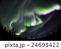 アラスカ 夏のオーロラ 08 24693422