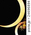 和柄 背景 紅葉のイラスト 24696894
