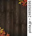 壁 紅葉 背景のイラスト 24696896