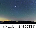 常念岳から見る星空と槍・穂高連峰 24697535