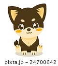 チワワ 犬 仔犬のイラスト 24700642