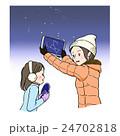 天体観測_星座_冬 24702818