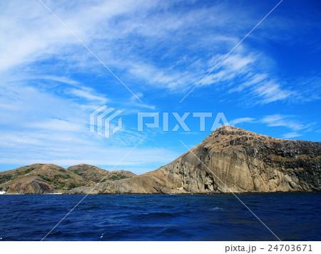聟島(ケータ島) 断崖 24703671