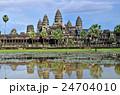 カンボジア アンコールワット 世界遺産の写真 24704010