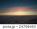 朝焼け 雲海 風景の写真 24706465