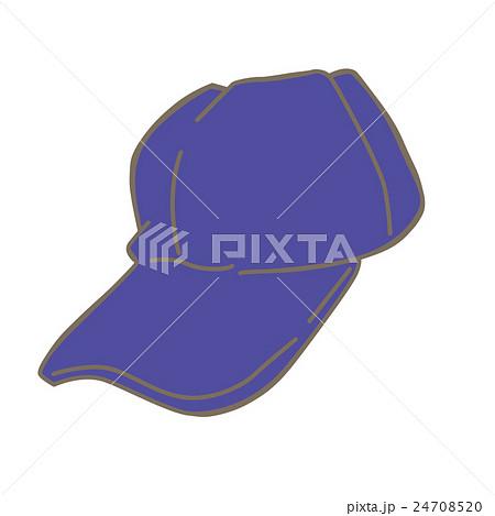 帽子のイラスト青いキャップ 野球帽のイラスト素材 24708520 Pixta