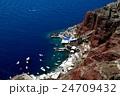 サントリーニ島 イアのマリーナ2 24709432