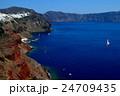 サントリーニ島 エーゲ海とイアの崖の上のリゾート5 24709435