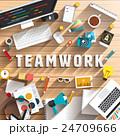 ビジネス 職業 クリエイティブのイラスト 24709666