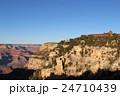夕方のグランドキャニオンの絶景 アメリカ アリゾナ 24710439