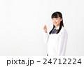 学生 学生服 女の子の写真 24712224